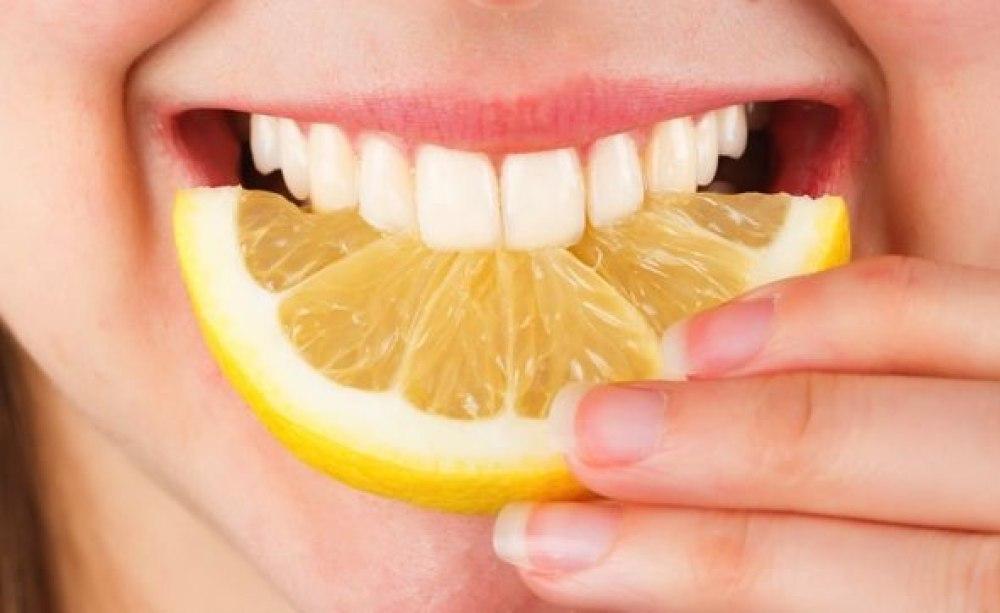 Bildergebnis für zitrone zähne