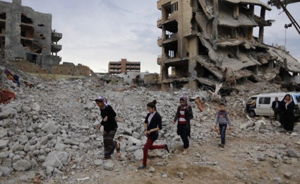 Syrien Kriegsgebiet