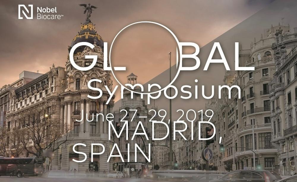 Das Nobel Biocare Global Symposium findet vom 27. bis 29. Juni 2019 im Madrid Marriott Auditorium Hotel & Conference Center statt.